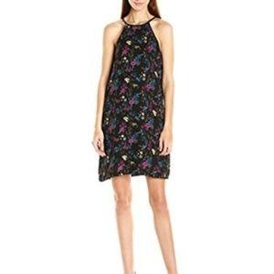 NWT Kensie Bird Floral Deep Ocean Combo Dress Sz S